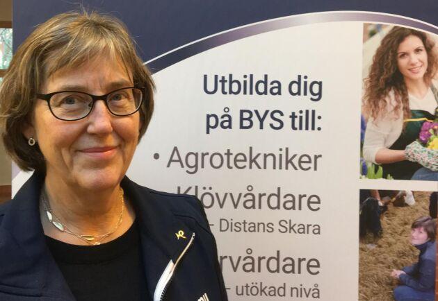 Barbro Mattsson bytte bana och blev utbildningsledare, efter 40 år i grisbranschen.