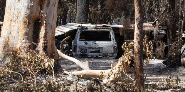 Räddningschef: Vi kan inte stoppa bränderna