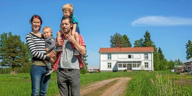 Elin och Daniel lever drömlivet i Luleå skärgård