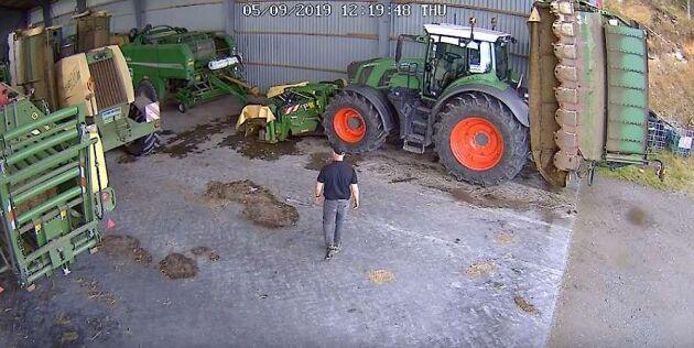 Typiska användningsområden är bland annat stallet, dieseltanken, hästtransporten, gårdsplan, maskinhallen och åteln.