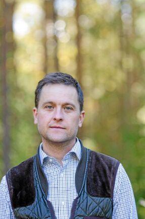 Rickard Axdorff är ordförande i Naturbrukarna Sverige som förra året gjorde en JO-anmälan om Länsstyrelsen Dalarnas hantering av Sebastian Kirppu.