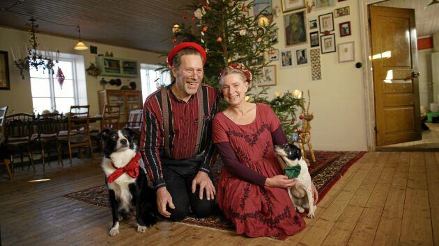 Paret Mandelmann har blivit riktiga storfavoriter i rutan! Mandelmanns jul visas i TV4 inför julen 2018.