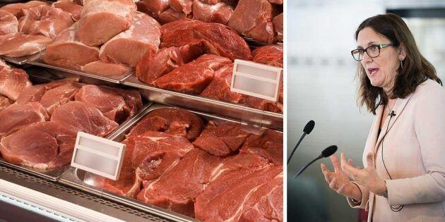 EU erbjuder Mercosurländerna ökad köttimport