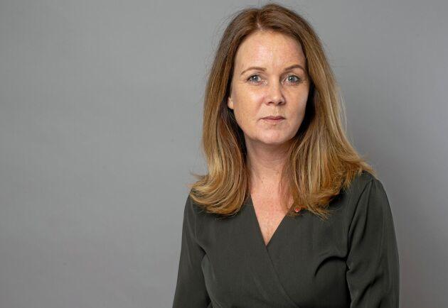 Jennie Nilsson (S), landsbygdsminister.