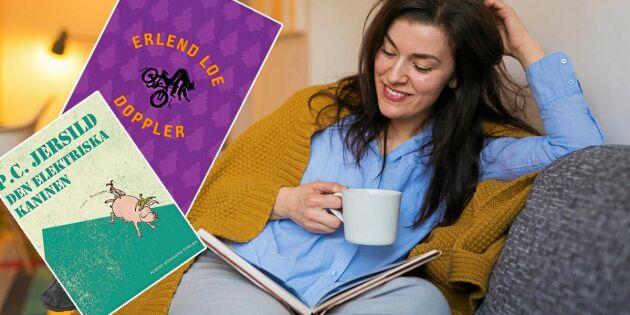 Boktips: 10 lättlästa böcker för dig som har tråkigt