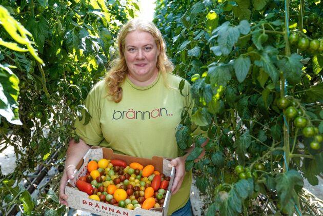 Caroline Andersson, Brännan trädgård