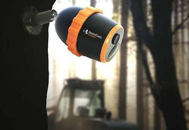 Ludafarms nya övervakningskamera går på batteri och kräver inga kabeldragningar. Överföringen sker i stället via mobilnätet.