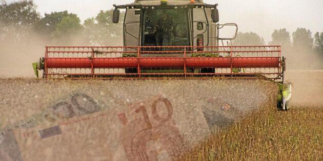 Oro ger sämre framtidstro bland EU-bönder