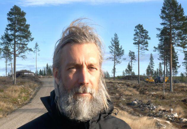 Joakim Eckerström, vd för Plantma AB, tror att det finns utrymme för ett 20-tal av företagets maskiner bara på den svenska marknaden på sikt.