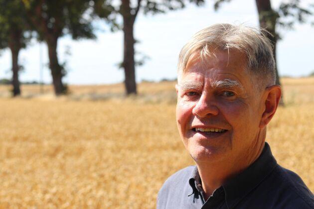 Kenneth Normark lämnar spannmålsbranschen efter 47 skördeår. Han har verkat både som inköpare och säljare av spannmål under sin långa karriär.