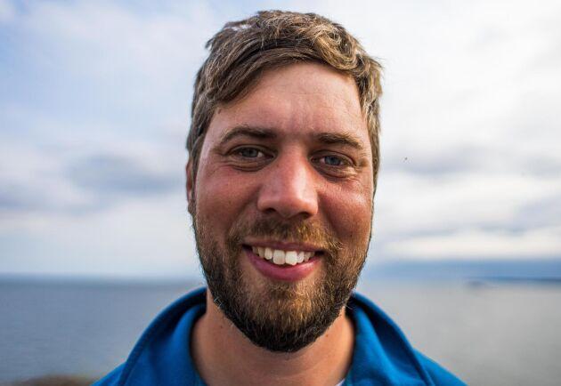 Johan Nilsson, chef för forskning och utveckling på Ecolog.
