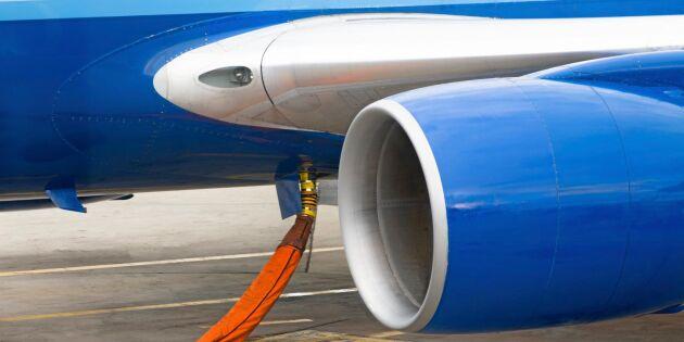 Start för biobränsle på fem svenska flygplatser