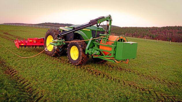 GridCON forskningsplattform för utvärdering av nätansluten drift av jordbruksmaskiner