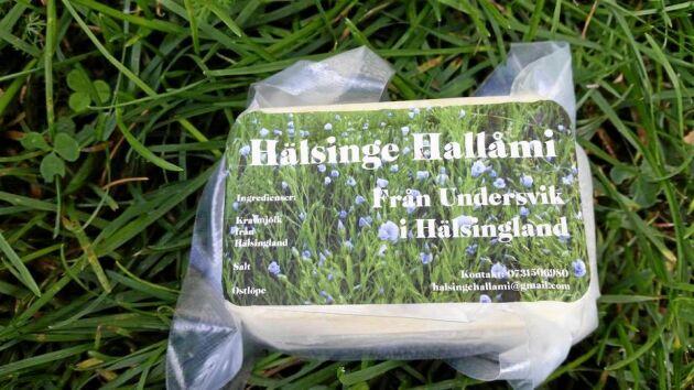 Hälsinge Hallåmi tillverkas av ekologisk komjölk.