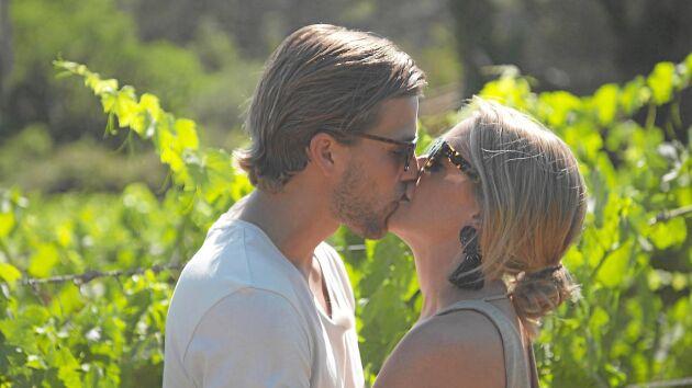 Joacim och Caroline träffades i Bonde söker fru 2017. Snart får de sitt efterlängtade barn.