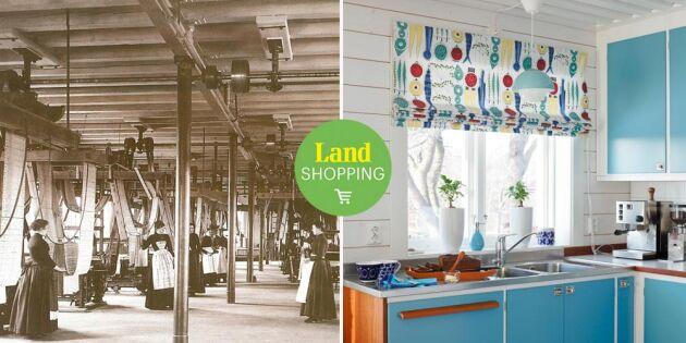 175 år av svensk textilhistoria – Almedahls mönsterskatt skapar nostalgi