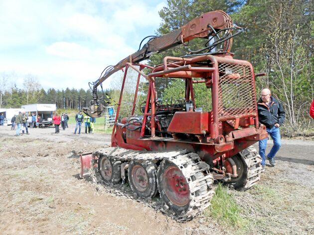 Skogsmaskinen Bamse byggdes på BM 230 Victor och är idag en klassiker.
