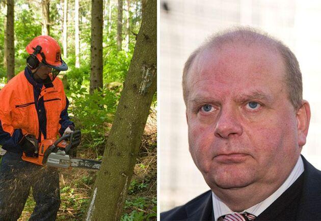 Eskil Erlandsson (C) är inte imponerad över Socialdemokraternas förslag om ett röjstöd.