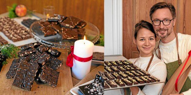 Deras chokladfabrik drivs av kärlek – och crowdfunding