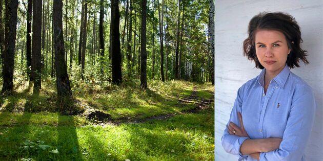 Det behövs skogsskövlare i debatten om skogen