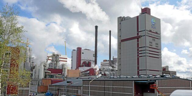 SCA söker miljötillstånd för bioraffinaderi