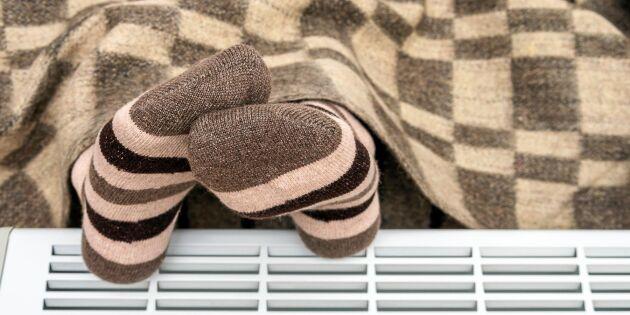 Ny studie: Därför är det männens fel när kvinnor fryser