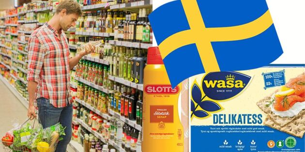 7 svenska matklassiker – bara en tillverkas i Sverige