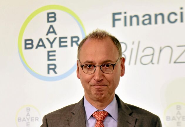 Bayers VD Werner Baumann fick hård kritik vid ett aktieägarmöte i april.
