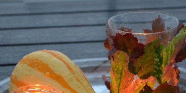 Höstens finaste ljuslyktor