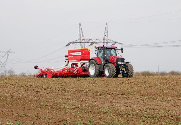 Pöttinger kombisåmaskin Terrasem C6 Fertilizer.