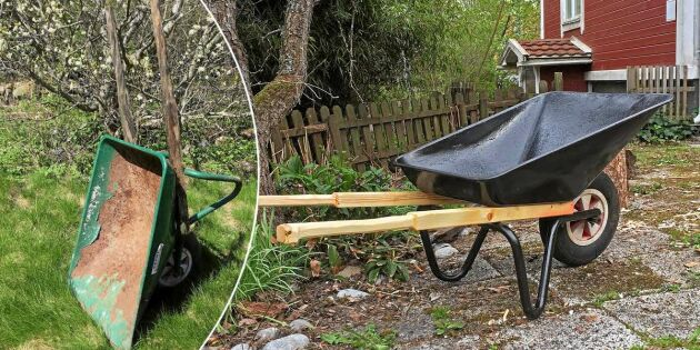 Lätt fixat! Så lagar du en trasig skottkärra – trädgårdens favorit