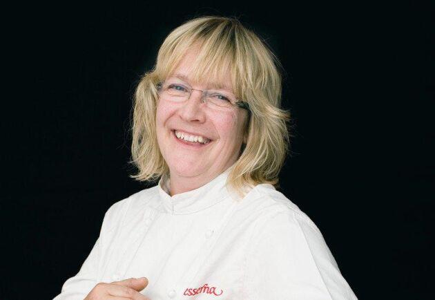 Monika Naess, saft- och syltmakare på företaget Finesserna i Flen.