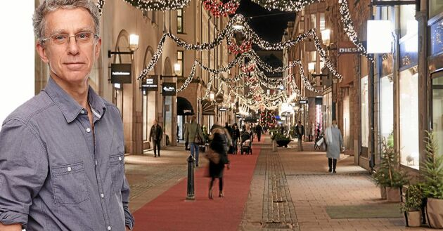 Julstämning i november? Inte direkt, om du frågar Håkan Steen. Men handeln vill ju förstås ha så lång tid som möjligt på sig att dra in pengar.