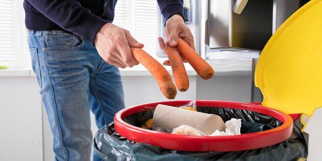 Matsvinnet: Här är maten som oftast hamnar i soporna