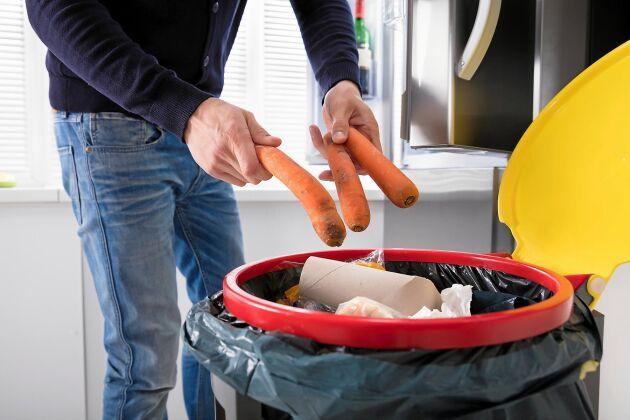 Pasta och tomater hamnar ofta i soporna visar Sifos undersökning av svenskars matsvinn.