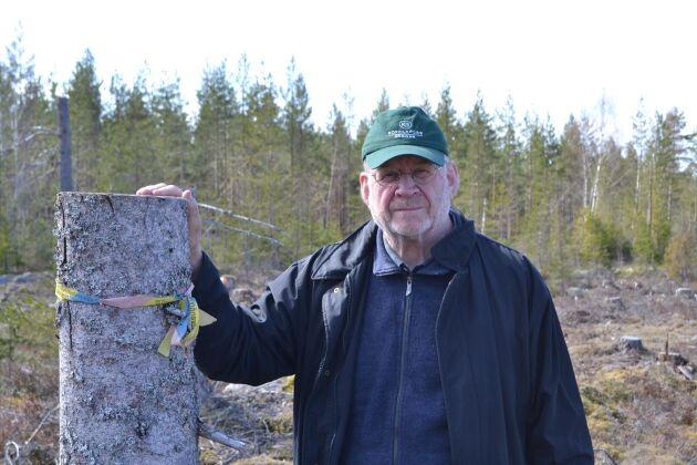 """""""Det finns påtagliga likheter mellan Kopparfors och enskilda skogsägare. Vi har skogsägarens syn på verksamheten, inte industrins, och vill ha mer betalt för virket"""", säger vd Lars-Erik Wigert."""