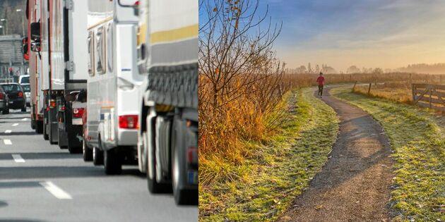 Trafikverket: Utsläpp från biltrafiken ökar i Sverige