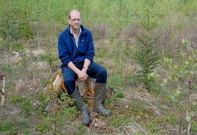 Bergvik har satsat på att sköta skogarna i Lettland lika bra som markerna i Sverige. Det är därför de ökat så mycket i värde, säger Bergviks skogschef Lars-Erik Wigert.