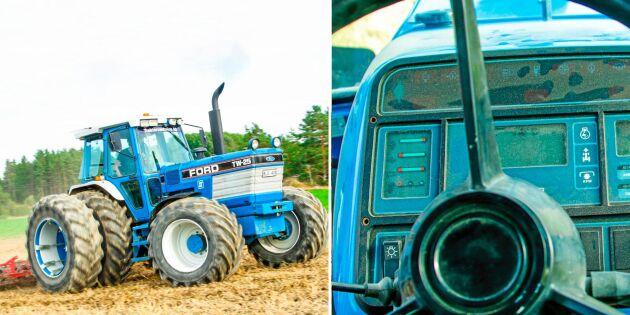 Blå Ford regerar på stubbåkern