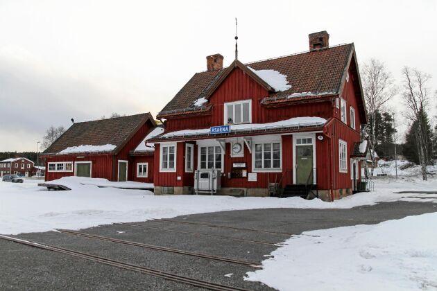 Åsarna stationshus i Jämtland.