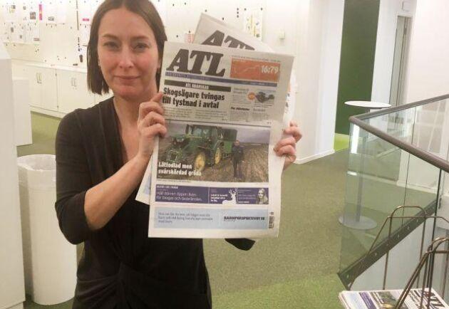Lilian Almroth, chefredaktör för ATL, berättar att man har satsat på att utveckla innehållet både i print och digitalt.