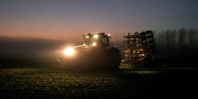 Mer mark brukas av allt större gårdar