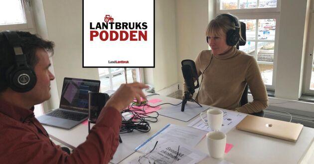 I veckans avsnitt av Lantbrukspodden gästas reporter Göran Berglund av Cecilia Ryegård som diskuterar den vikande ekotrenden.