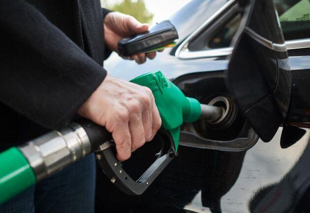 Sverige är ledande i Europa på att ersätta fossila drivmedel med biodrivmedel.