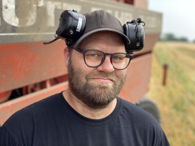 Andreas Elbing, dataingenjör och bonde.