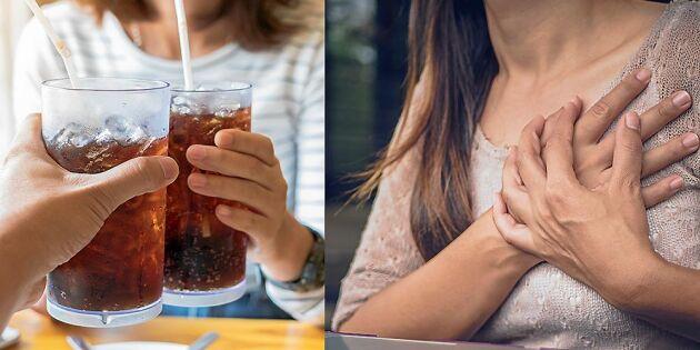 Forskarnas varning: Light-läsk kan vara skadligt för din hälsa
