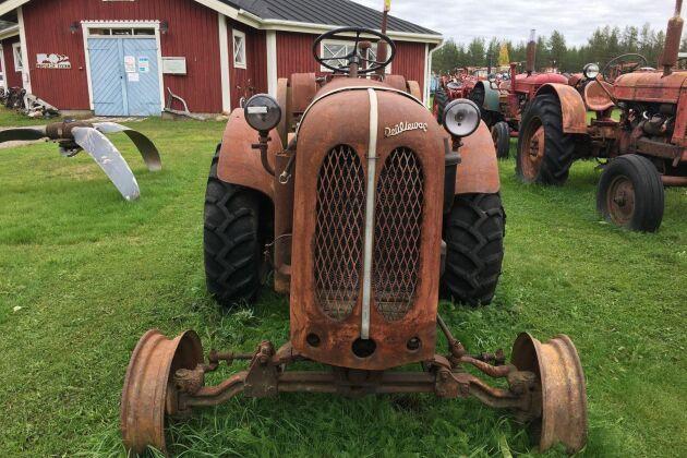 Deuliewag-traktorn från 1949 gick för 30 000 kronor ...
