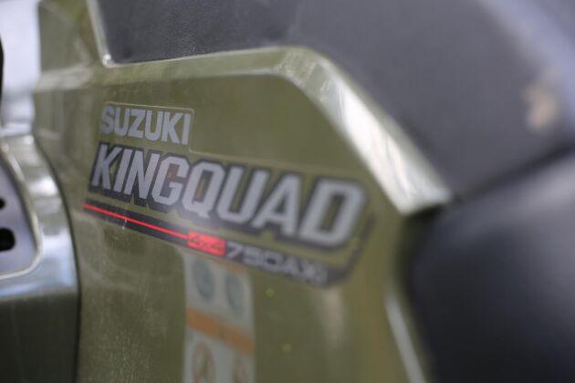Suzuki Kingquad 750 AXi.