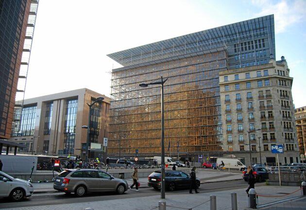 Jordbruksministrarna samlades inte i rådsbyggnaden i Bryssel denna månad.