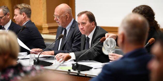 Löfven röstades ned i riksdagen